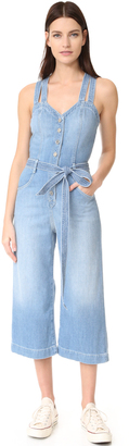 7 For All Mankind Culotte Jumpsuit $299 thestylecure.com