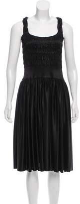 Sophia Kokosalaki Sleeveless Gathered Dress w/ Tags