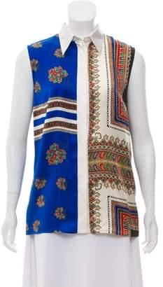 Givenchy Silk Sleeveless Top