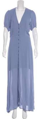 Reformation V-Neck Short Sleeve Dress w/ Tags