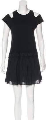 Thakoon Cold-Shoulder Mini Dress