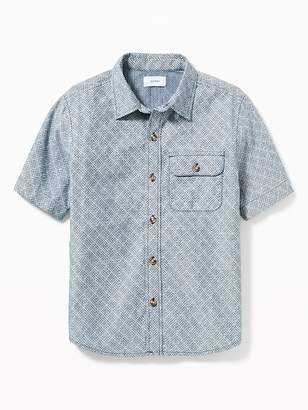 Old Navy Classic Chest-Pocket Shirt for Boys