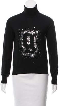 Galliano Embellished Wool Sweater