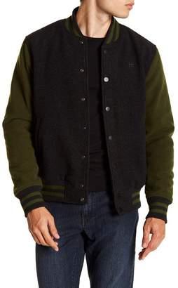 Hudson Woolen Varsity Jacket