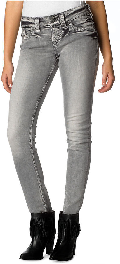 Silver Jeans Juniors Jeans, Suki Skinny