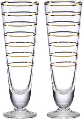 Kate Spade (ケイト スペード ニューヨーク) - kate spade new york Melrose Avenue Pilsner Glasses, Set of 2