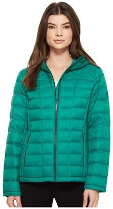 MICHAEL Michael Kors Zip Front Hooded Packable M823394F Women's Coat