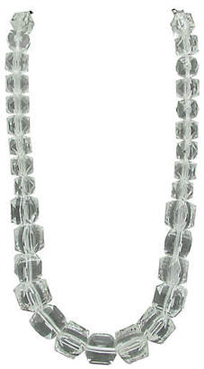 One Kings Lane Vintage Graduated Lucite Bead Necklace