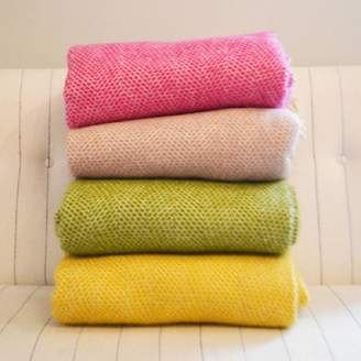Ville et Campagne Mosaic Pure New Wool Luxury Throw