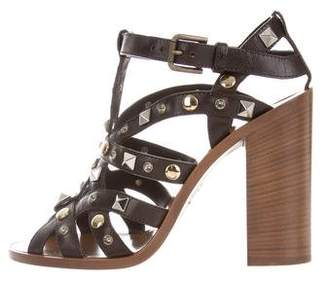 Dolce & Gabbana Studded Cage Sandals w/ Tags
