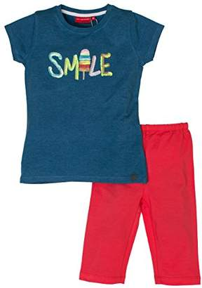 Salt&Pepper Salt and Pepper Girl's Smile Pailetten Clothing Set