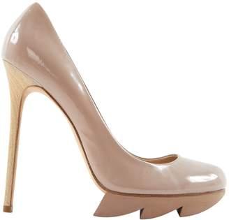 Camilla Skovgaard Beige Patent leather Heels