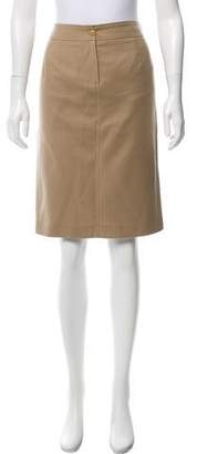 Wolford Wool Knee-Length Skirt