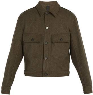 Lemaire Felted wool-blend jacket