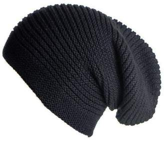 Black Pre-Order Cashmere Slouch Beanie Hat