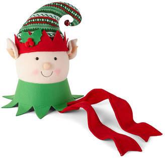 Co North Pole Trading Elf Head Tree Topper