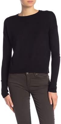 John & Jenn Crew Neck Solid Sweater