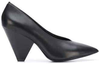 Ash pointed toe pumps