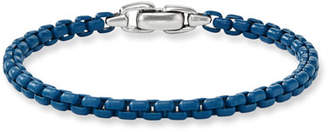 David Yurman Men's Acrylic-Coated Box Chain Bracelet, 5mm
