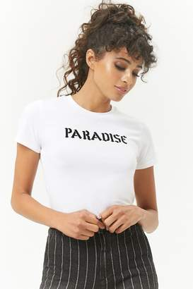 Forever 21 Paradise Graphic Tee