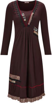 Joe Browns Terrific Lace Trim Dress