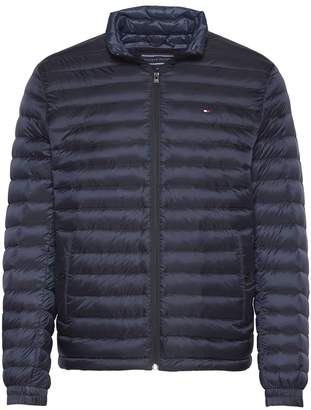 Tommy Hilfiger Mid-Season Short Padded Jacket with High Neck