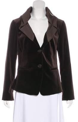 Etro Velvet Shawl Collar Blazer