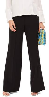 Topshop Clean High-Waist Wide Leg Trousers