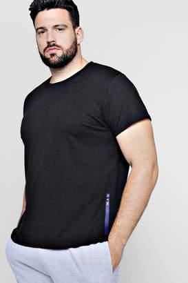 boohoo Big And Tall MAN Sport Logo Placement T-Shirt