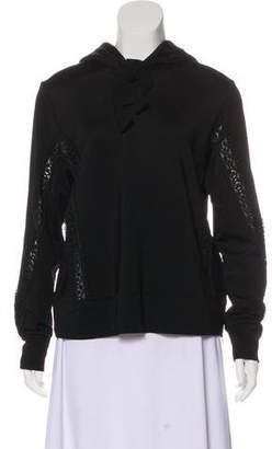 Ganni Hooded Pullover Sweatshirt