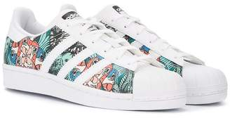 SuperStar (スーパースター) - Adidas Kids Superstar tropical-inspired sneakers