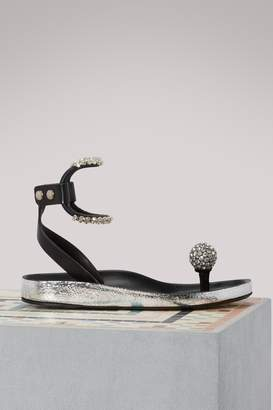 Isabel Marant Ecly rhinestone sandals