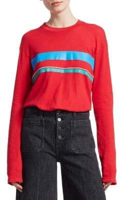 Elizabeth and James Melody Long Sleeve Stripe Shirt