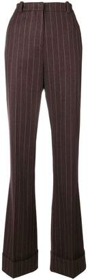 Etro high waisted pinstripe trousers