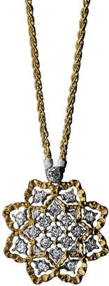 Buccellati Rombi Diamond Charm Necklace