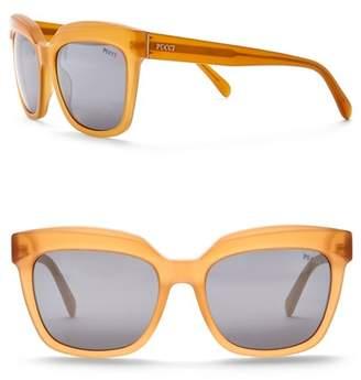 Emilio Pucci 55mm Plastic Sunglasses