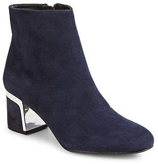 DKNY Corrie Leather Booties