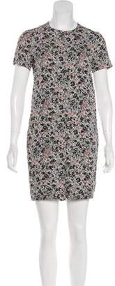 Cacharel Abstract Print Sheath Dress