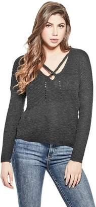 Factory Guess Women's Dolley Crisscross Sweater