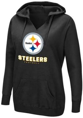 NFL Pittsburgh Steelers Women's Shape It Up Plus Size Hoodie