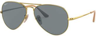 Ray-Ban Polarized Sunglasses, RB3689 55