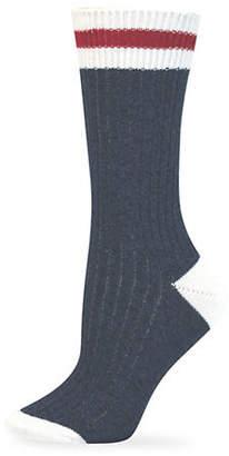 Point Zero Cottage Crew Socks