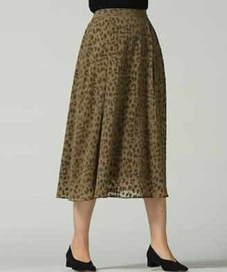 Droite lautreamon (ドロワット ロートレアモン) - ドロワット ロートレアモン レオパードフロッキースカート