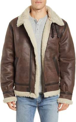 Alpha Industries B-3 Faux Shearling Bomber Jacket