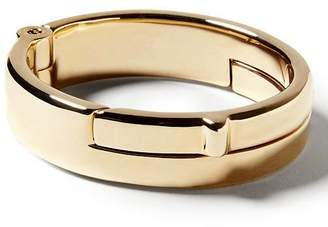 Banana Republic Giles & Brother | Gold Wide Latch Cuff