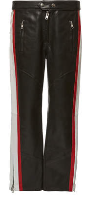 Etoile Isabel Marant Aya Striped Leather Skinny Pants