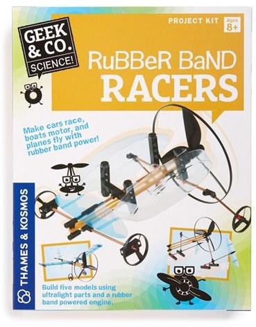 Boy's Thames & Kosmos 'Rubber Band Racers' Kit
