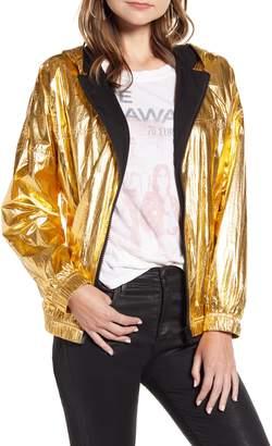 Zadig & Voltaire Koody Metallic Hooded Jacket