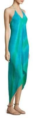 Ramy Brook Stripe-Printed Nadia Dress