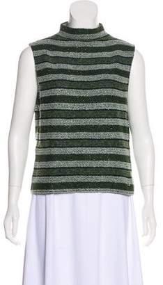 St. John Sport Sleeveless Knit Sweater